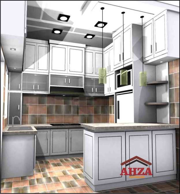 Kitchen Set Full Plafond – Klaten