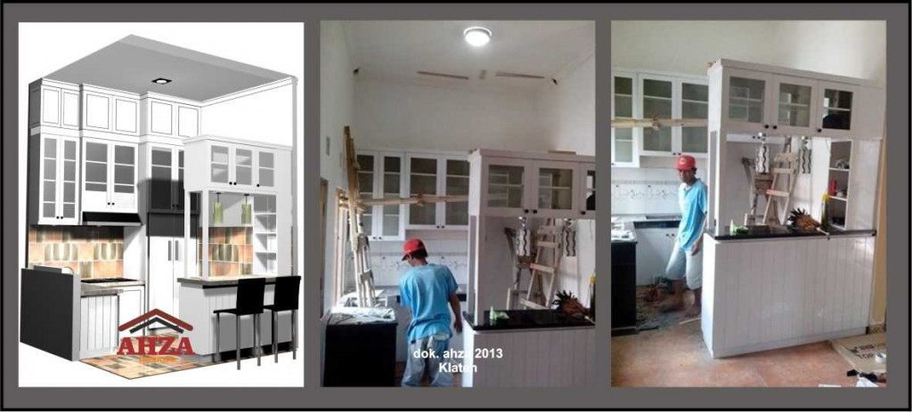 kitchen set 2 level kabinet atas, Klaten